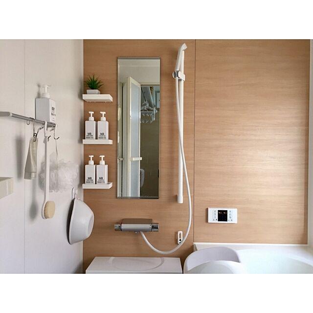 Bathroom,詰め替え,無印良品,シンプル,詰め替えボトル,連投失礼します takeboo3の部屋