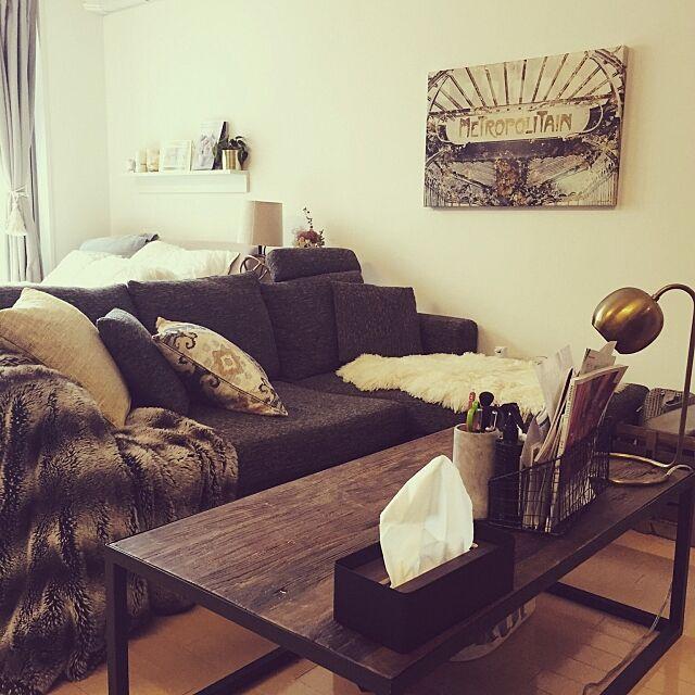 Lounge,関家具,ヴィンテージ,レトロ,ビンテージ,男前,一人暮らし Natsukaの部屋