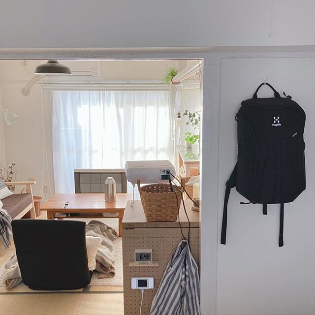 100均フック,seria,リュック,UR賃貸,団地暮らし,一人暮らし,On Walls maatonaの部屋