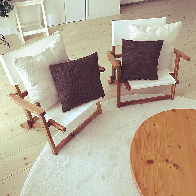 アウトドアチェア,ナチュラル,北欧,カフェ風,ニトリ,Lounge codemariの部屋