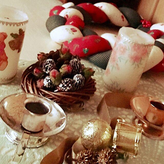 思い出を飾る,布に綿を詰めてチクチク♡,三つ編み,りぼん,ろうそく立て,デコパージュキャンドル,クリスマスリースハンドメイド puriyuzuの部屋
