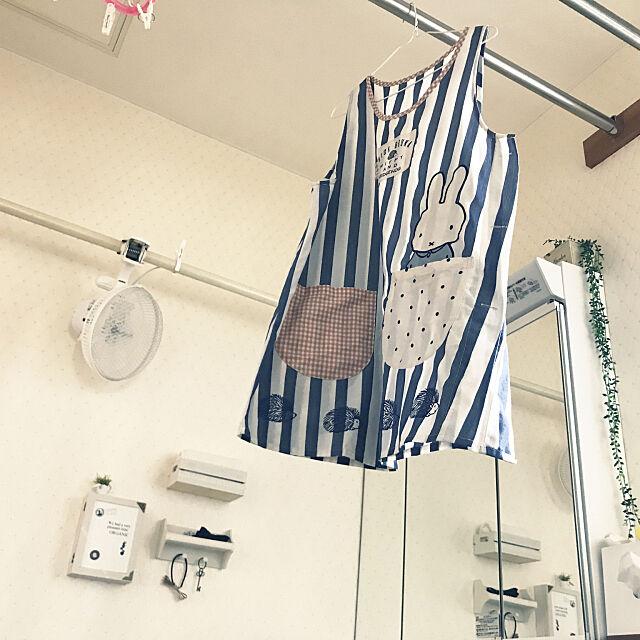 Bathroom,部屋干し,扇風機,いつもありがとうございます❤️ minipuniの部屋