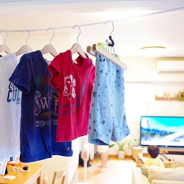 Lounge,マテリアルワールド,洗濯物,室内物干し,物干し,室内干し,部屋干し,DIY tomの部屋
