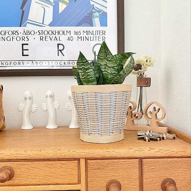 サンスベリア,狭小を楽しむ,3階建て,狭小住宅,北欧ナチュラル,建売住宅,北欧,観葉植物,Overview,手作りの鉢カバー,手作り hananokaoriの部屋