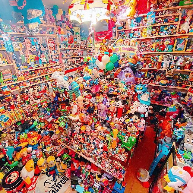 オモチャ棚,TOYSTORY,おもちゃ,コレクション,トイストーリー,アメリカン,オタク部屋,オモチャ,おもちゃ部屋,My Shelf Takuの部屋