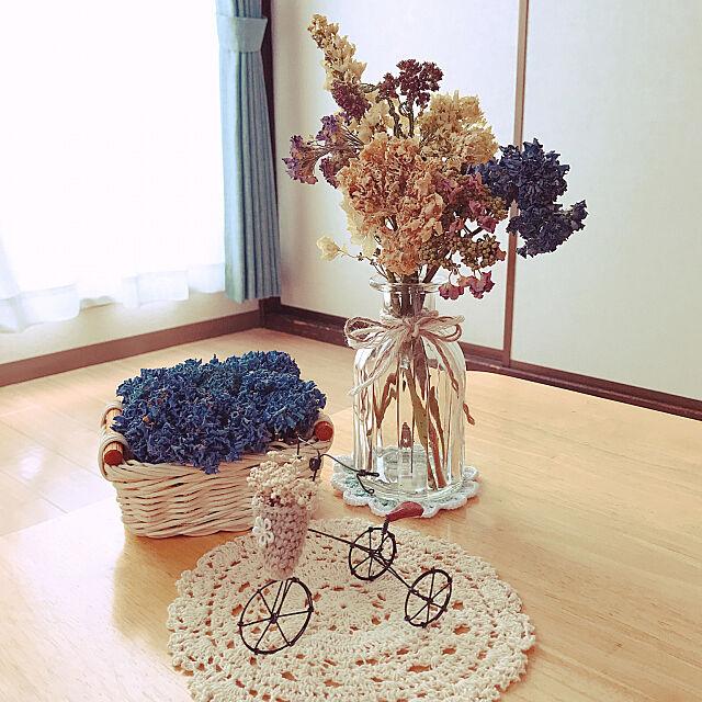 Kitchen,ダイソーの花瓶♡,aikko ちゃんのお花コースター♡,賃貸でも~楽しんでます~*,あじさい初ドライフラワー,紫陽花が好き♡,kotori ちゃんの三輪車♡,フォロワー様の優しさに感謝です♡,RCの出会いに感謝♡,幸せいっぱい♡ natsuの部屋