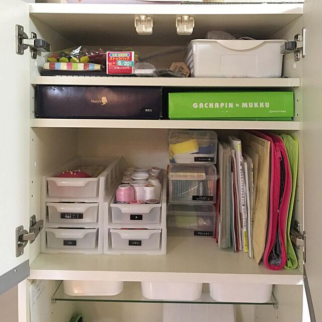 My Shelf,ダイソー,裁縫道具収納,裁縫セット akikikikiの部屋