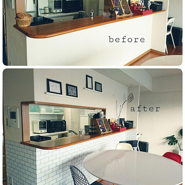 Lounge,DIY,マンション,シンコール壁紙,壁紙,アクセントクロス,ショーケースDIY,IKEA sui.saiの部屋
