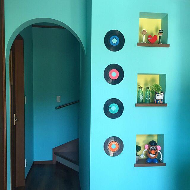 Entrance,レコード,ニッチ,アール eightpopperlandの部屋
