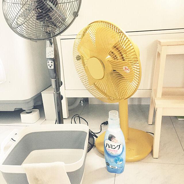 柔軟剤水,今日の小掃除,こそうじ記録,扇風機,Bathroom Mikaの部屋