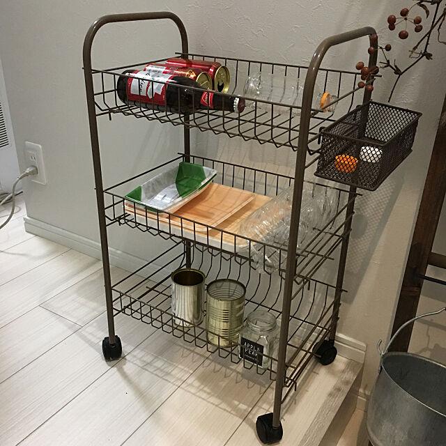 カゴラック,資源ごみ置き場,100均,My Shelf importantの部屋