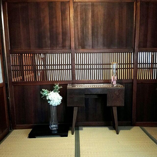 Entrance,建具,和風,古民家,築110年,日本家屋,鏡台,玄関,障子,格子戸,格子,障子紙 9107の部屋