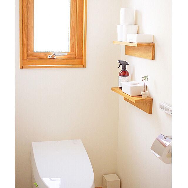 Bathroom,マーチソンヒューム,トイレ,スウェーデンハウス ,シンプルインテリア,グリーンのある暮らし,ナチュラル,北欧,ナチュラルインテリア,シンプルライフ,無印良品 壁に付けられる家具,無印良品 ma.homeの部屋
