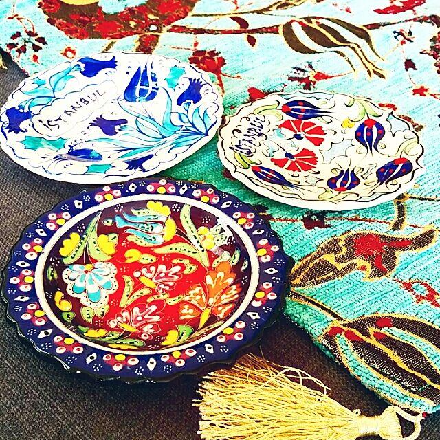 トルコ,キュタフヤ陶器 nikoayameの部屋