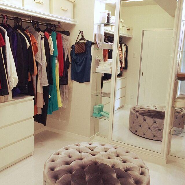 Overview,TIFFANY,Dior,SATC,オーダーメイド,リノベーション,アクセサリー,モデルルーム,アパレルショップ風,クローゼット,ファッション,IKEA,VOGUE,海外ドラマ,海外インテリア,女子力UP,自分でデザイン,ウォークインクローゼット machoの部屋