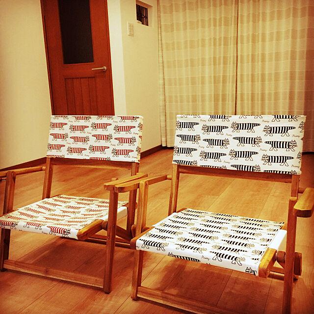 ハンドメイド,手作り,ニトリ,DIY,ナチュラル,ローチェアDIY Takuyaの部屋