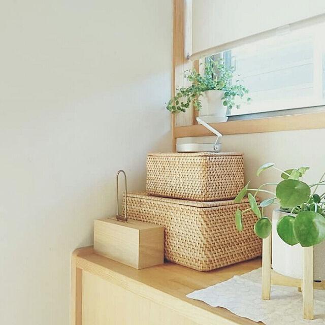 My Shelf,マイホーム,かご,ラタン,木の家,シンプル,ナチュラルインテリア,シンプルインテリア,注文住宅,無印良品,ナチュラル,楽天roomやってます,シンプルな暮らし,蚊遣り,みどりのある暮らし,インスタ→yu_mi_ho,いいね&フォローありがとうございます☆ yumihoの部屋