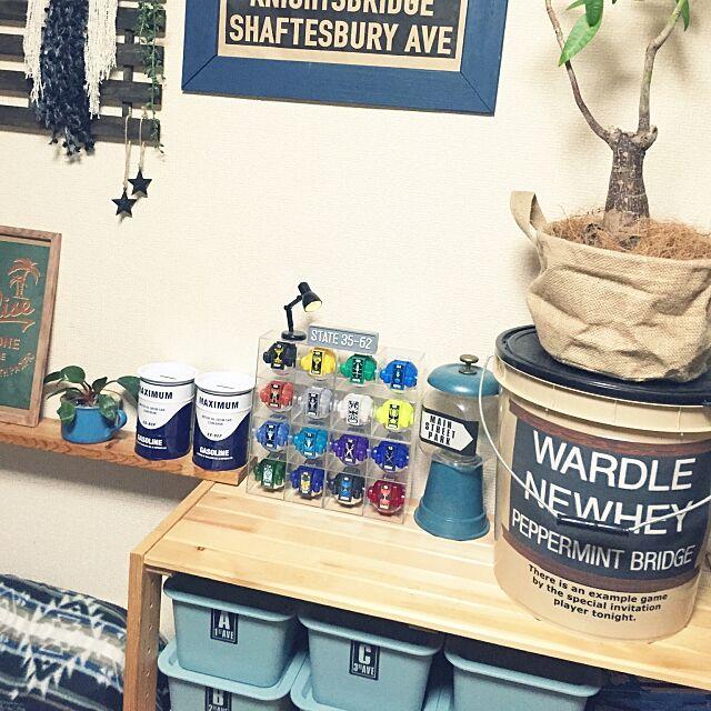 My Shelf,子供スペース☆,クリアケース,セリア,子供の要望,ゴーストアイコン,仮面ライダーゴースト,こどもと暮らす。 yo-koの部屋