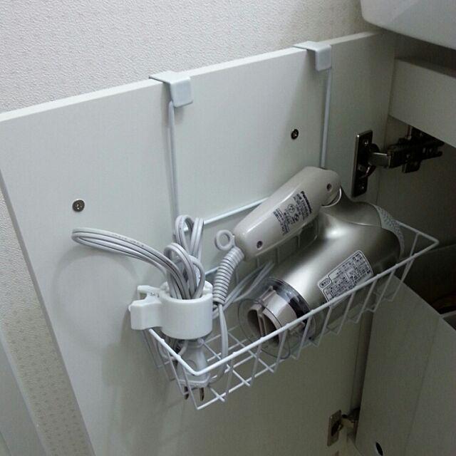 Bathroom,洗面台下収納,ハンギング収納,100均アイテム nazs0829の部屋