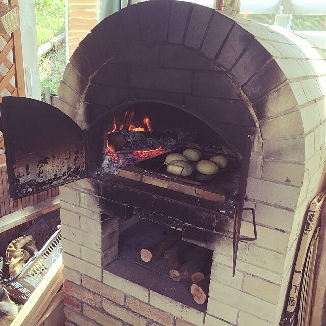 Entrance,手作りパン,ピザ窯 Naomiの部屋