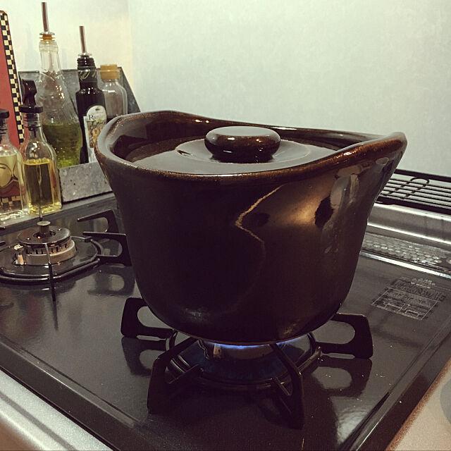 Kitchen,無印良品土鍋deごはん,いいね!ありがとうございます◡̈♥︎,ぼちぼち参加。 Miechamの部屋