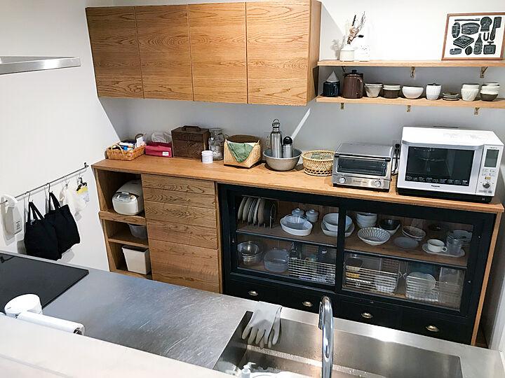 「質感の味わいで魅せる、私らしさを育み楽しむキッチン」 by kuuuma24さん