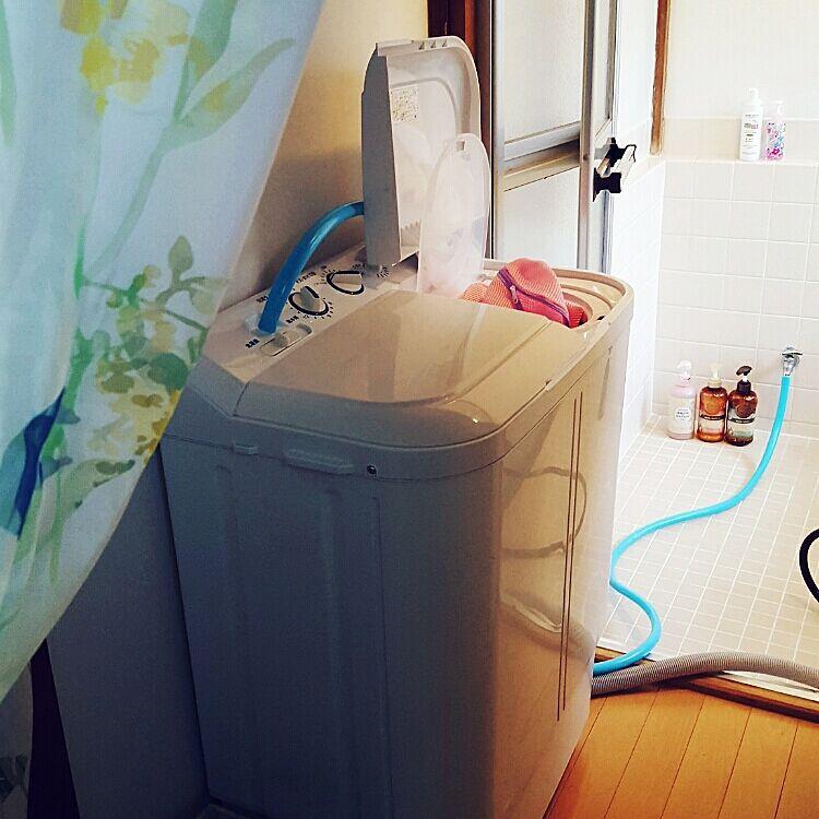 あえて選びたくなる魅力☆二槽式洗濯機を取り入れてみませんか?