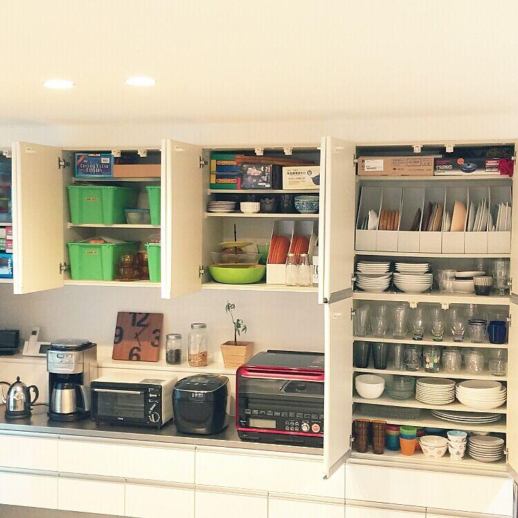 食器棚収納のコツをおさえよう♪スッキリさせる法則